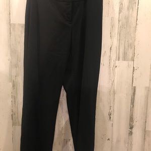 Style & Co Pants Black Straight Leg Stretch